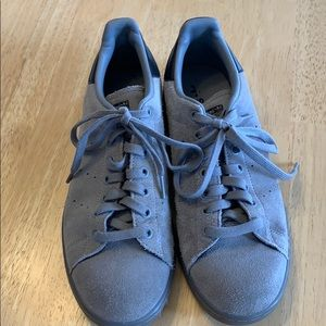 Adidas Stan Smith Mens in gray suede